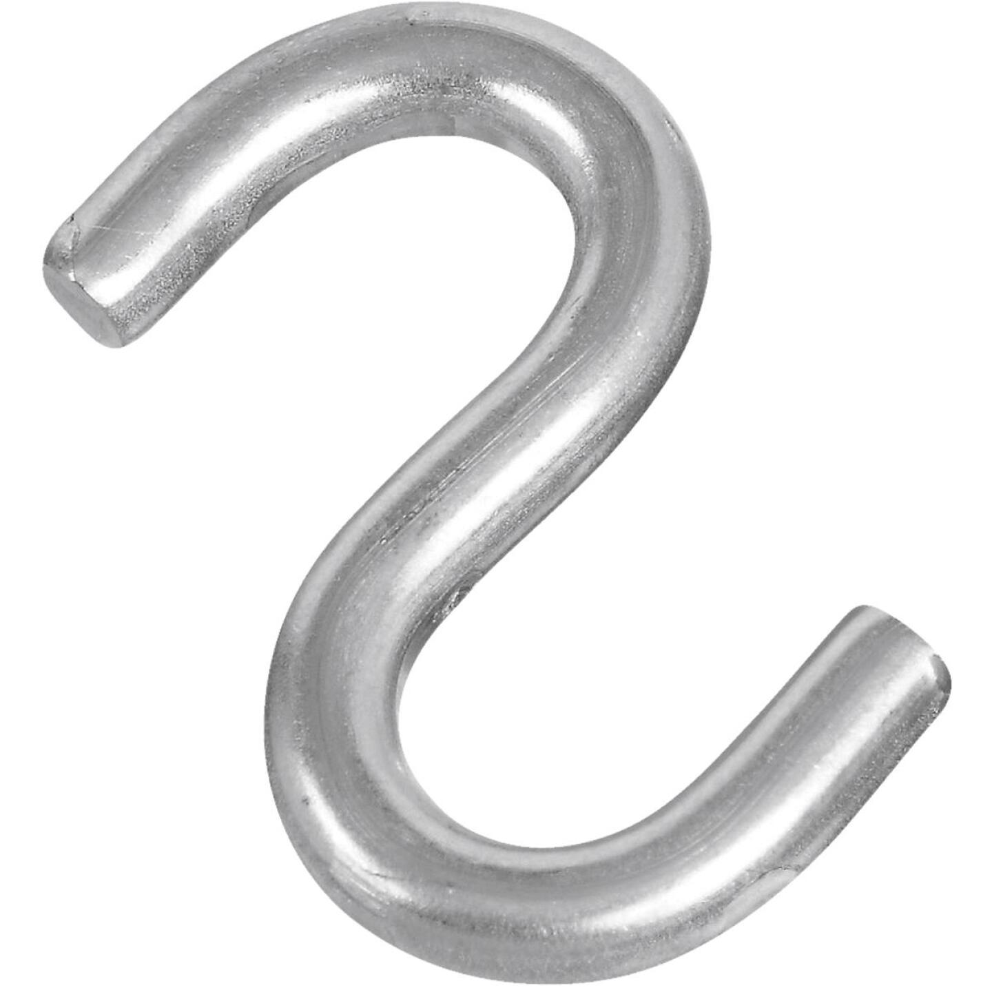 National 2 In. Stainless Steel Heavy Open S Hook Image 1