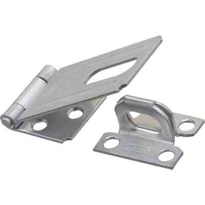 National 3-1/4 In. Zinc Non-Swivel Safety Hasp