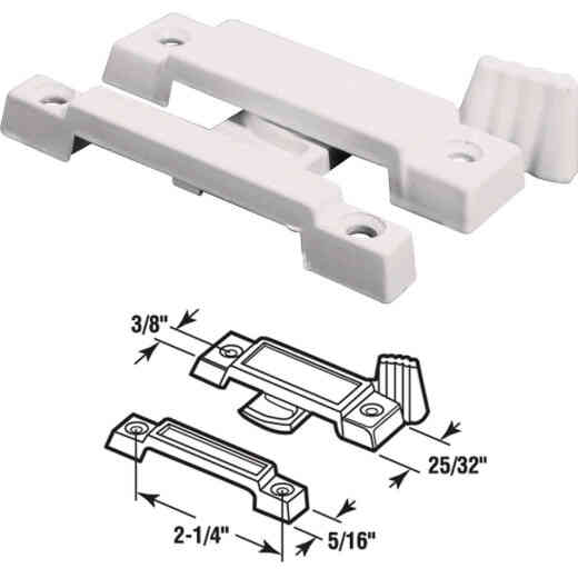 Prime-Line Slim Line Window Sash Lock