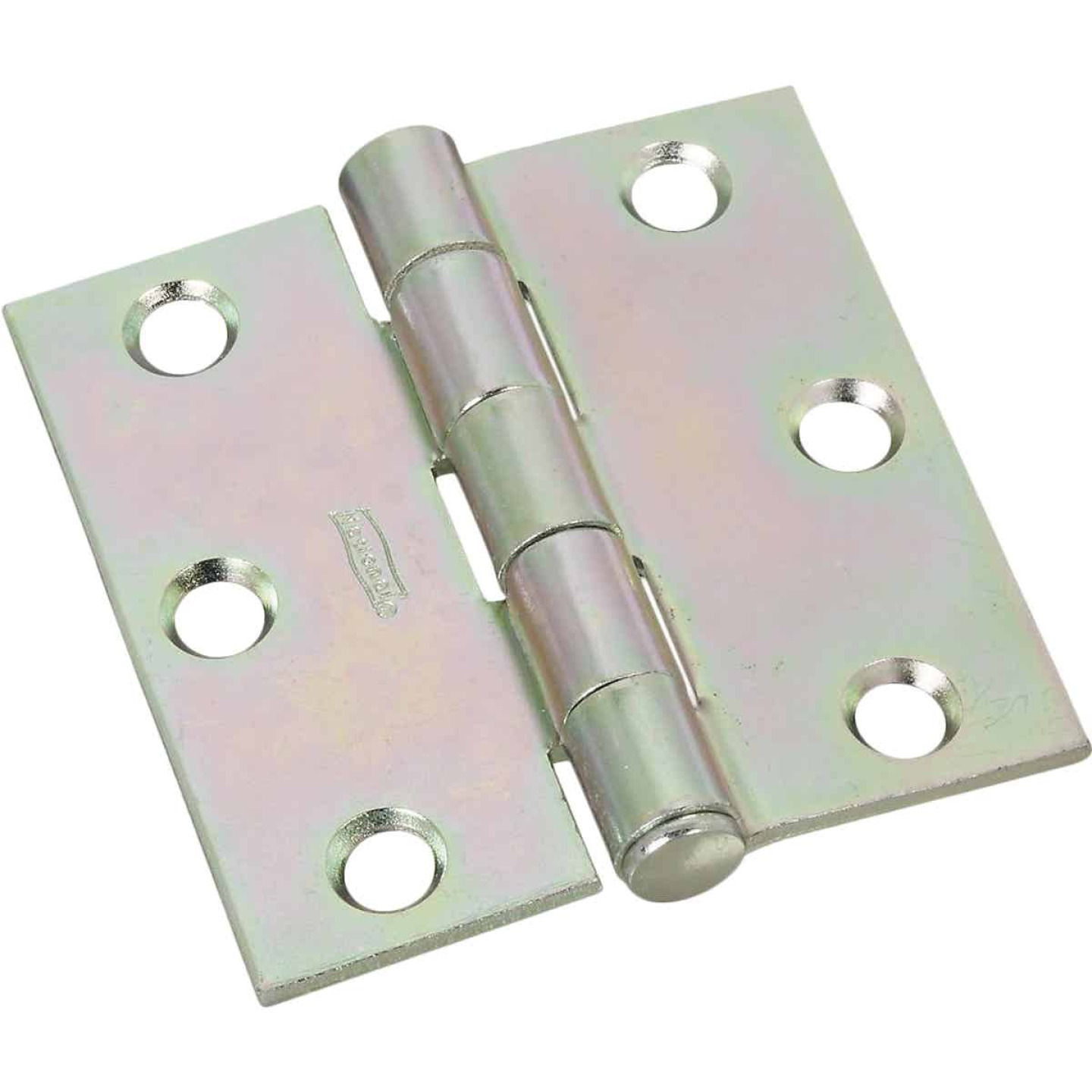 National 2-1/2 In. Zinc Removable Pin Broad Hinge Image 1