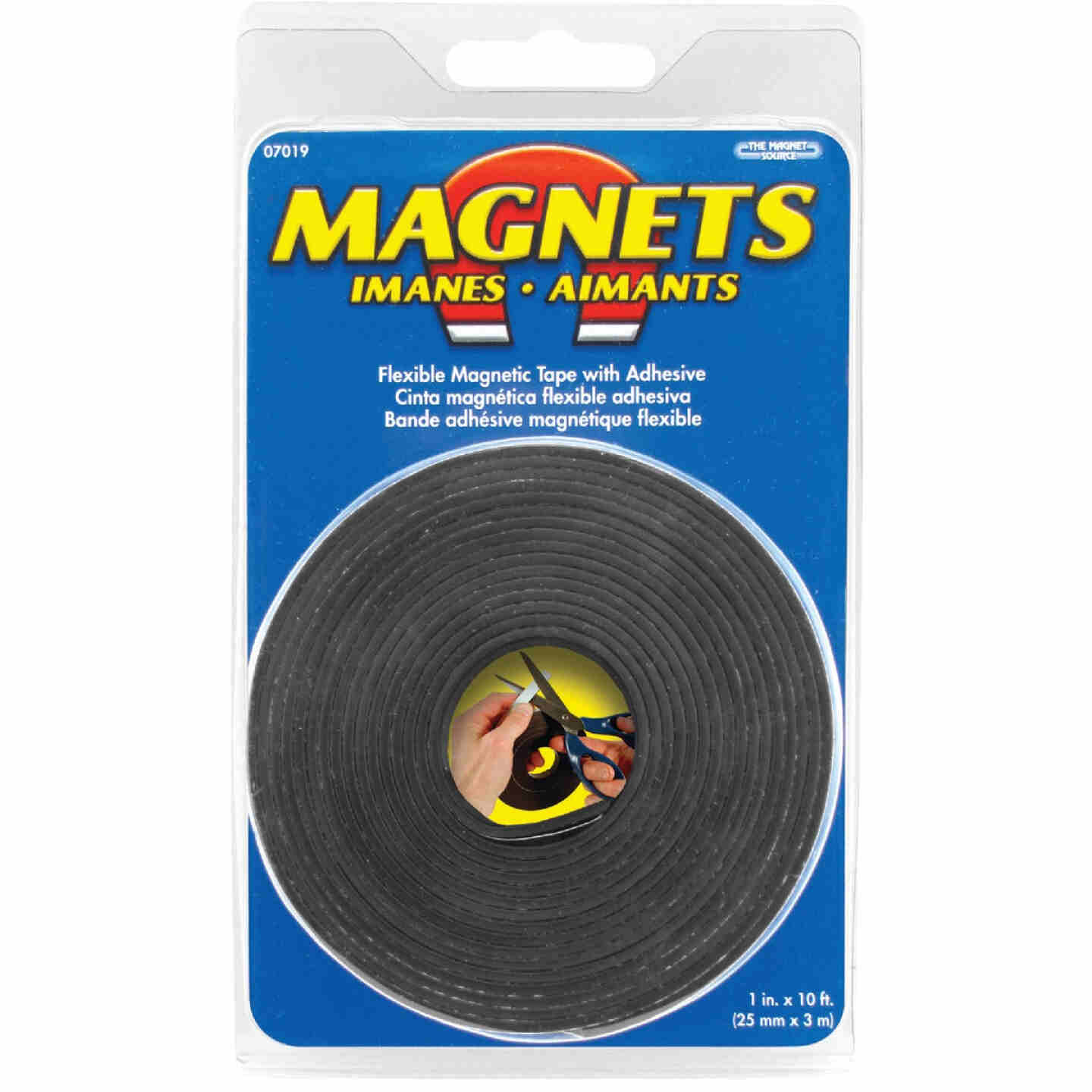 Master Magnetics 10 Ft. x 1 in. Magnetic Tape Image 2