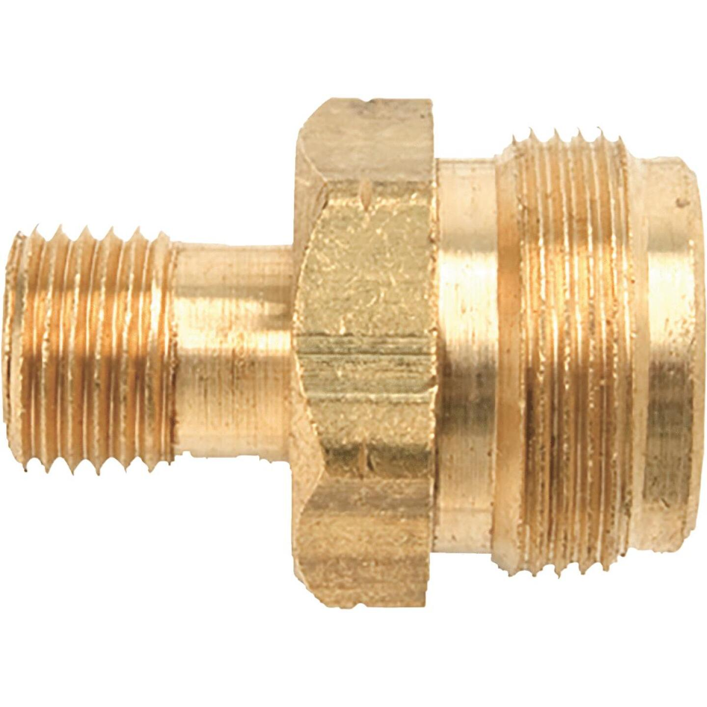 MR. HEATER 1 In.-20 TCT x 9/16 In. MPT Brass LP Cylinder Adapter Image 1